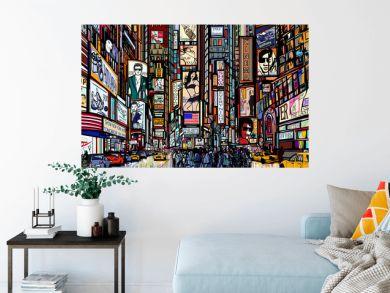 street in New York city