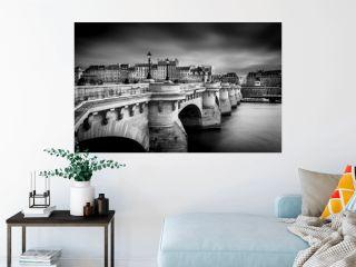 Pont Neuf at Paris in B/W ...