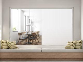 Loft luxury restaurant interior, mock up wall