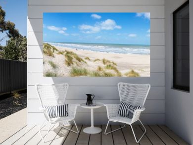 Nordseestrand in Westflandern Belgien