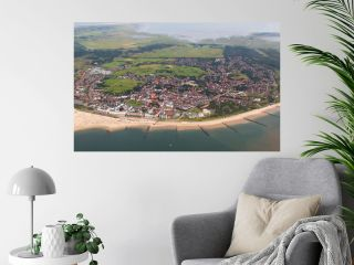 Borkum - Blick über die Insel