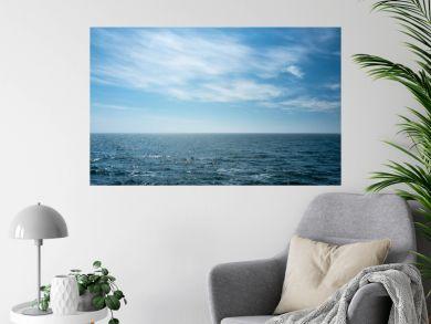 Blick auf die offene Nordsee