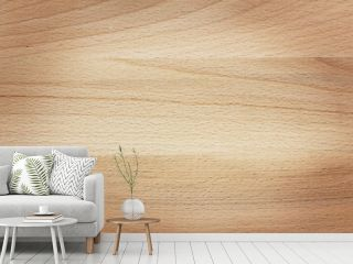 Natural Wooden Board Texture. Top view