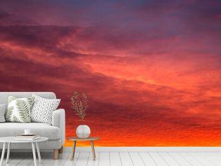 Dramatic Sky During Sunrise
