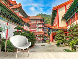 New temple in Zhuhai