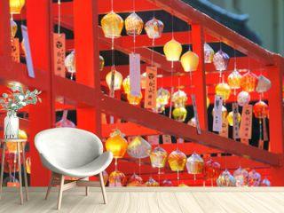 Wind Bell Festival at Hakusan Shrine, Niigata City, Niigata Pref., Japan