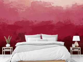 Unique abstract painting art with oil paint brush for presentation, card background, wall decoration, or t-shirt design
