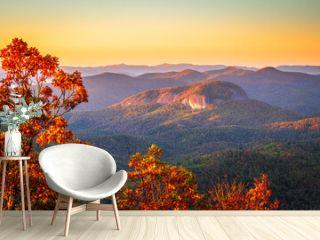 Pisgah National Forest, North Carolina, USA at Looking Glass Rock