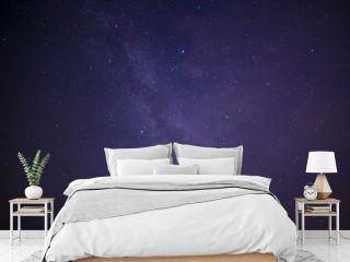 Milky Way galaxy in night sky