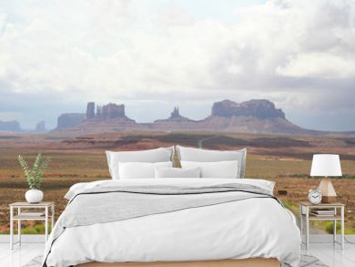 Route 66 vers Monument Valley