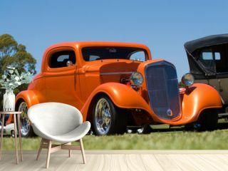 Orange Hot Rod