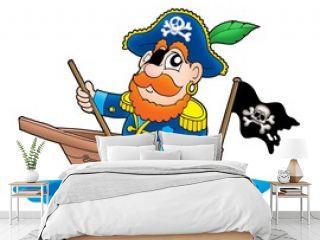 Pirate in the boat