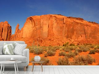 Panoramic View in Monument Valley, Navajo Nation, Arizona