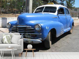 old Cuban 1950 taxi in Havana Cuba