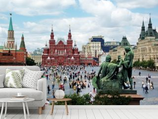 Red Square in Moscow, Russian Federation