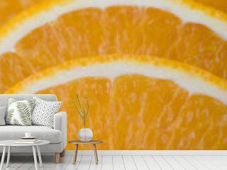 Orange gefächert