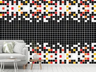 Abstract pattern with mosaic