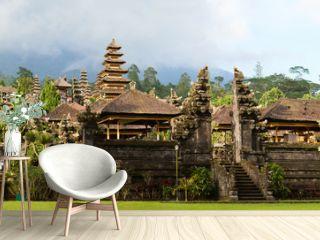 Panorama of Mother Temple of Besakih in Bali