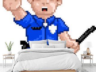 PixelArt: Police Officer
