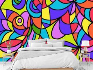 astratto multicolore