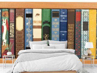 Many various beautiful books