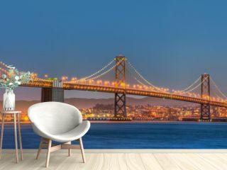 San Francisco Bay Bridge Panorama