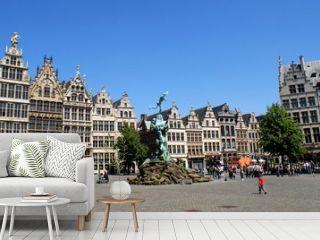 Mittelalterliche Architektur am Grote Markt in Antwerpen