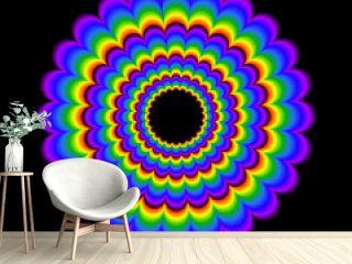 psychedelic wheel