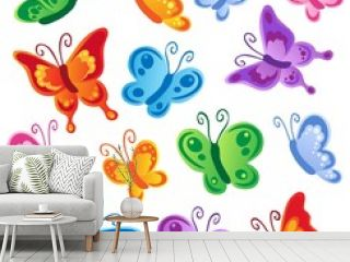 Various butterflies collection 1