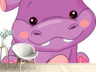 Fun zoo. Hippo