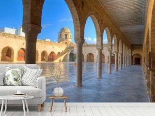 Courtyard of the Great Mosque in Sousse