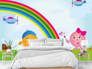 cartoon_rainbow