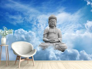 Bouddha Dans les Nuages