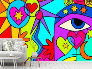 astratto colorato