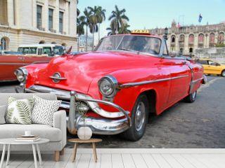 Classic Oldsmobile  in Havana.