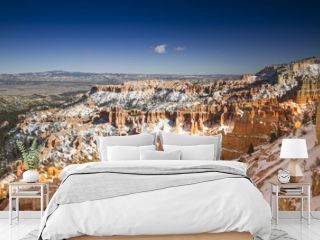 Bryce Canyon National Park in Inverno