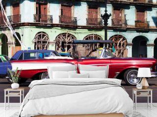 Historische kubanischer Strassenkreuzer
