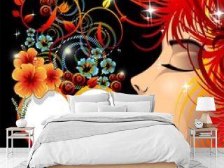 Be my Valentine Love Heart-Cuore Decorativo con Bacio-Vector