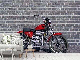 motorbike red
