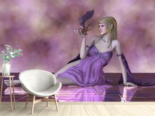 Fairy and Tiny Dragon