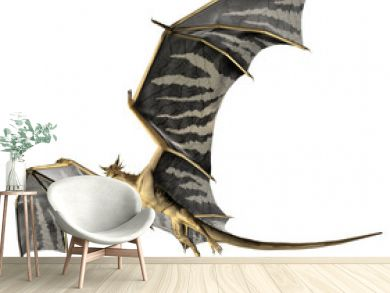 Flying Dragon - Computer Artwork