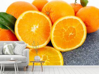 Frische Apfelsinen