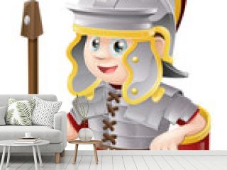 Cartoon Roman Soldier