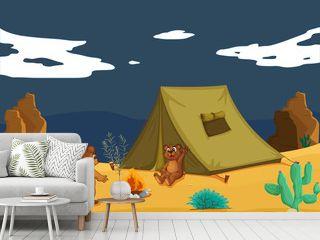 Bears camping