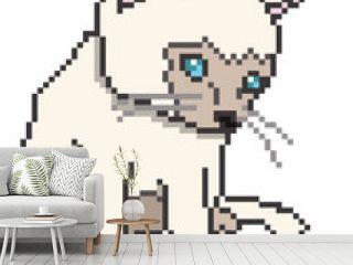 Pixel Kitten Isolated