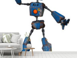 old robot  dancing