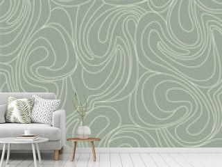 seamless background from  whirling waves in retro style