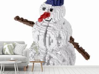 symbol of the Christmas holidays isolated on white background