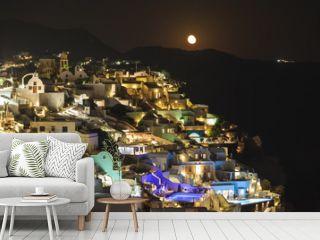 Oia village ,Santorini island, Greece