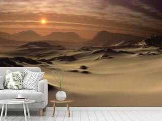 Fantasy Landscape - Desert